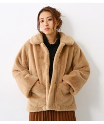 RODEO CROWNS WIDE BOWL/Bigカラー FAUX FUR コート/501486871