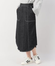 JOINT WORKS/gvgv flare midi denim sk/501493961