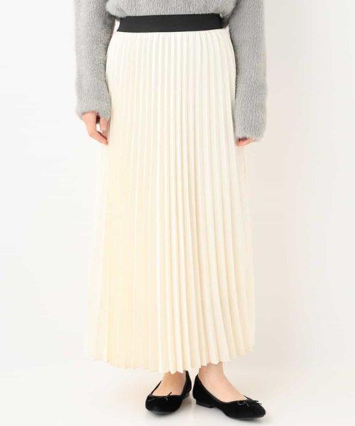 OFUON(オフオン)/アコーディオンプリーツスカート/EUHAG14099