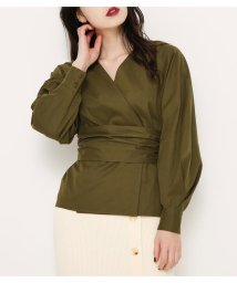 SLY/BELTED PUFF SLEEVE BL/501486629