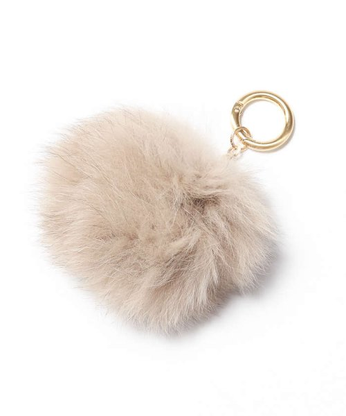 collex(collex)/CLX FOX FUR POMPOM/60370226000