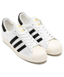 adidas/adidas Originals SUPERSTAR 80s  Running White/Core Black/Gold Mett/501494313