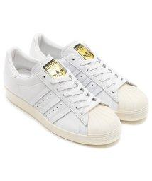 adidas/adidas Originals SUPERSTAR 80's DLX   RUNNING WHITE/RUNNING WHITE/CREAM WHITE/501494673