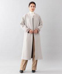 SANYO COAT/<DoubleFaced Coat>ウールリバーラップコート/501497939