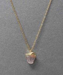 ninon/天然石「誕生石」ステンレスネックレス/ブレスレット/501500223