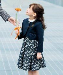 anyFAM(KIDS)/【KIDS】セレモニー 40/20ミニ裏毛レースボンディング ワンピース/501500610