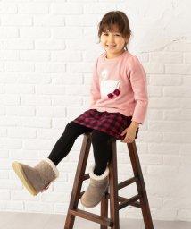 anyFAM(KIDS)/【9周年記念WEB限定カラー有り/KIDS】裏起毛 スワン トレーナー/501500619