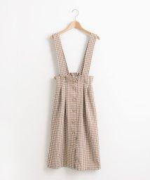 MAJESTIC LEGON/ウエストタックサス付スカート/501390070