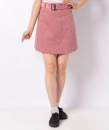 INGNI/コーデュロイベルト付き台形スカート/501459497