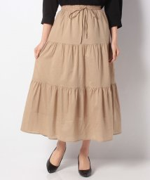 NICE CLAUP OUTLET/【every very nice claup】ティアードマキシスカート/501473472
