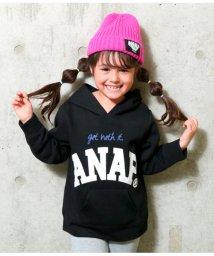 ANAP KIDS/ロゴフーディートレーナー/501488337