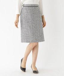 INDIVI/ツイードAラインスカート/501491827