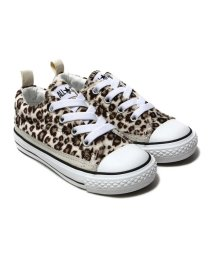 CONVERSE/CONVERSE CHILD ALL STAR N LEOPARDFUR SLIP OX  ホワイト/501494754