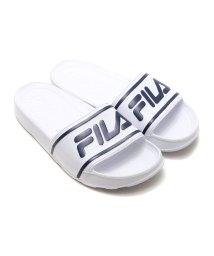 FILA/FILA SLEEK SLIDE LT  WHITE/FILA NAVY/501494867