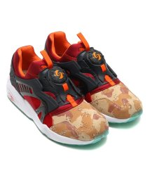 "PUMA/PUMA × Titolo × atmos DISC BLAZE ""DESERT DUSK""  DARK NAVY - TRUE RED/501497556"