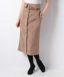 Noela/スエードタイトスカート/501498310