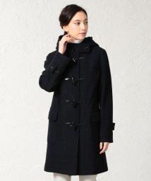 SANYO(WOMEN'S)/<Flat-Seam COAT>ウールジャージーダッフルコート/501500719