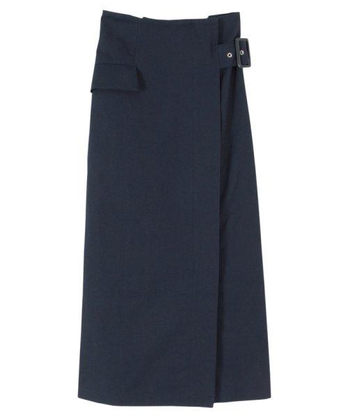 titivate(ティティベイト)/バックルベルトタイトスカート/ATXN0127