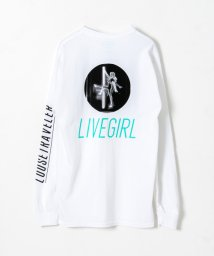 URBAN RESEARCH/LOOSE TRAVELER LIVE GIRL LONG-SLEEVE T-SHIRTS/501501407