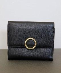 ninon/【牛革】リングチャーム2つ折り財布/501502946