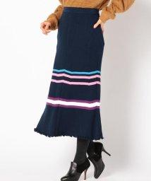 Khaju/ACASAM:リブラインスカート/501503051