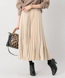 La TOTALITE/《追加2予約》サテンギャザープリーツスカート◆/501503517