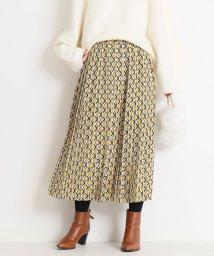 Spick & Span/ジオメトリックプリーツスカート◆/501503518