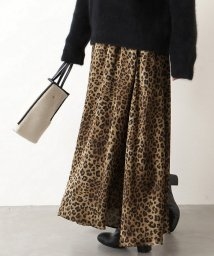 JOURNAL STANDARD/《予約》レオパードプリントスカート◆2/501503543
