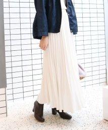 SLOBE IENA/サテンプリーツスカート◆/501503544