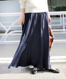 SLOBE IENA/《予約》サテンプリーツスカート◆/501503544