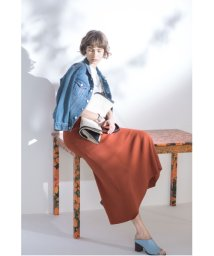 Mila Owen/ニットロングフレアスカート/501503635