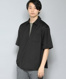 URBAN RESEARCH/【SENSEOFPLACE】ハーフジップシャツ(5分袖)/501450032