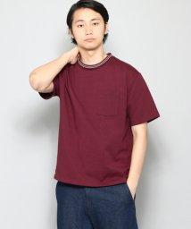 URBAN RESEARCH/【SENSEOFPLACE】ラインリブT(5分袖)/501450048