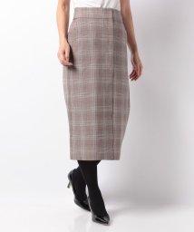 URBAN RESEARCH/【UR】グレンチェックタイトスカート/501470626