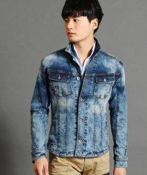 HIDEAWAYS NICOLE/エイジング加工デニムショートシャツ/501479430