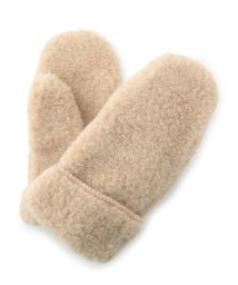 Adam et Rope Le Magasin/【COLD BREAKER】FREEZE MITTENS WOOL PILE/501483846