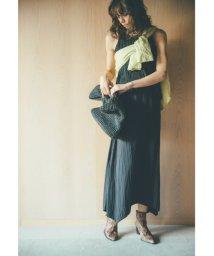 Mila Owen/ワッシャープリーツノースリーブセットアップ/501503649