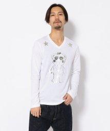 RoyalFlash/TANTA/タンタ/5 STAR OUTLINE LS Tシャツ/501503687
