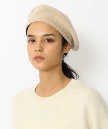 GALERIE VIE/カシミヤ ニットベレー帽/501503705