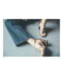 Mila Owen/クロスストラップサンダル/501504250
