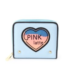 PINK-latte/オーロラハート パスケース付きミニ財布/501504380