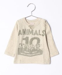 COMECHATTO&CLOSET/【GOTOHOLLYWOOD】シルクネップテンジク ANIMALS BABY TEE/501485439