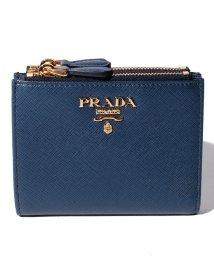 PRADA/【PRADA】2つ折り財布/SAFFIANO METAL ORO【BLUETTE】/501487656