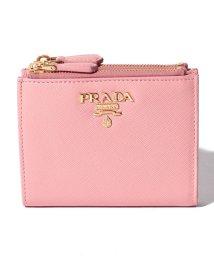 PRADA/【PRADA】2つ折り財布/SAFFIANO METAL ORO【PETALO】/501487657