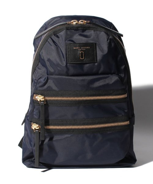 MARC JACOBS(マークジェイコブス)/【MARC JACOBS】バックパック/Nylon Biker Backpack【MIDNIGHT BLUE】/M00127000007415