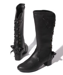 axes femme/バックレースアップブーツ/501488825