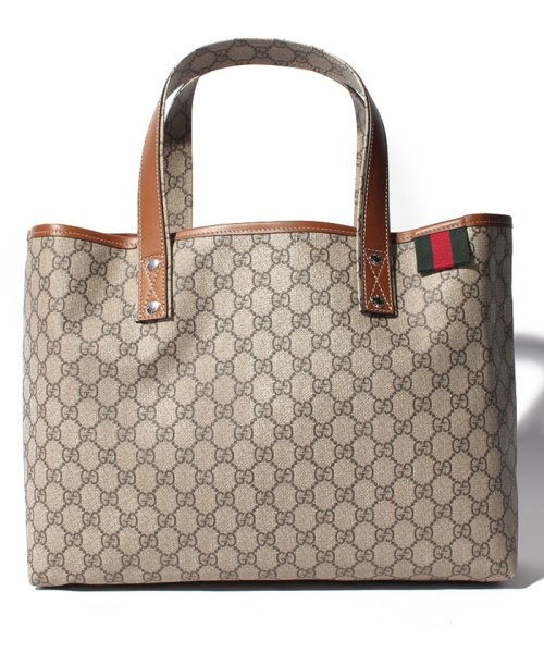 GUCCI(グッチ)/トートバッグ / TOTES 【BEIGE/EBONY+CUIR-VRV】/211134KGD3G8527