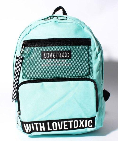 Lovetoxic(ラブトキシック)/ポーチつきメッシュポケットデイパック/8383493
