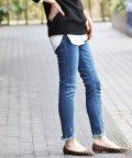 IENA/YANUK PATRICIA ANKLE スキニー(ネイビーB)◆/501504747