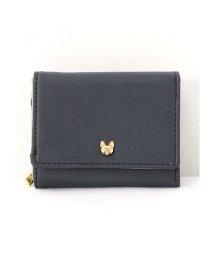 HAPPY EXP/猫スタッズ三つ折り財布/501505115